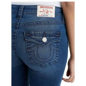 True Religion Women's Super Skinny Stretch Jeans